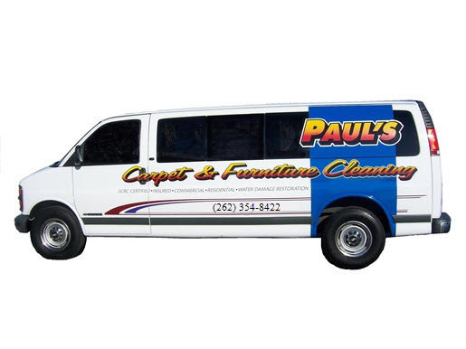 Paul's Carpet and Furniture Cleaning LLC Van